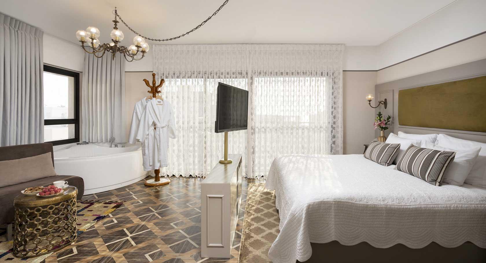 מלון שטרקמן ארנה נהריה סוויטה רומנטית